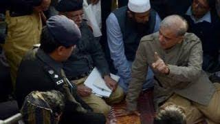 Dunya News-CM Shahbaz visits Muzaffargarh rape victims family, scolds police officers