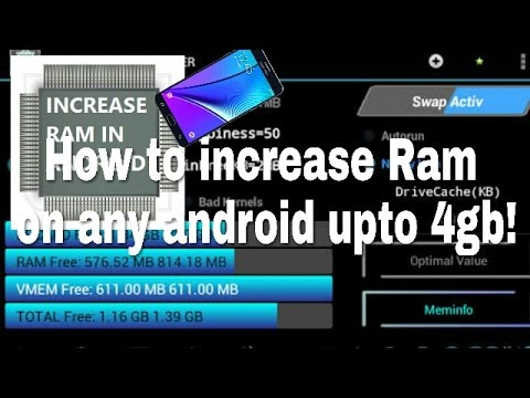 Use SD card as ram on android phone   100% working method!
