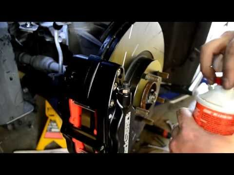 How to Bleed CorkSport Big Brake Caliper Kit