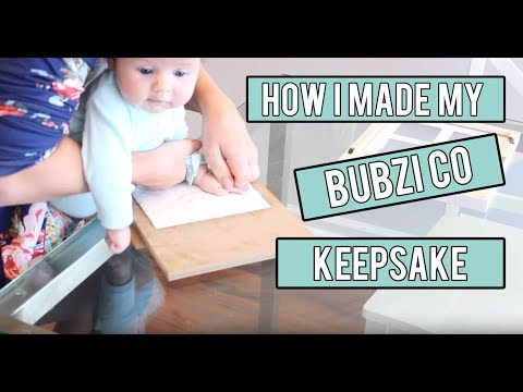 How We Made Our Bubzi Co Handprint Clay Keepsake + GIVEAWAY!!!