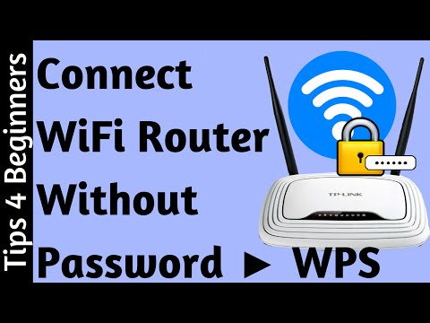 How to Connect WiFi Without Password Using WPS ! Awesome | WiFi Router Tips Tricks