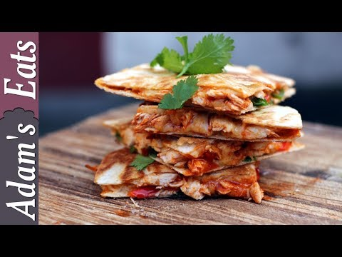 Buffalo chicken quesadilla | Easy quesadilla recipes