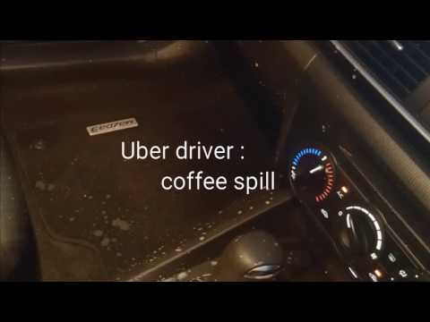Uber driver : coffee spill clean