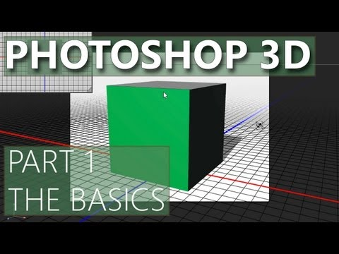 3D in Photoshop CS6 - 01 - 3D Basics
