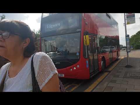 Blind change on Metroline OM1 (YJ16DBO )