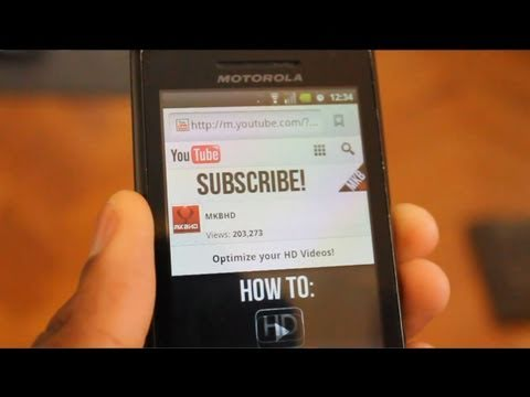 How to make a YouTube Mobile Banner [2011]