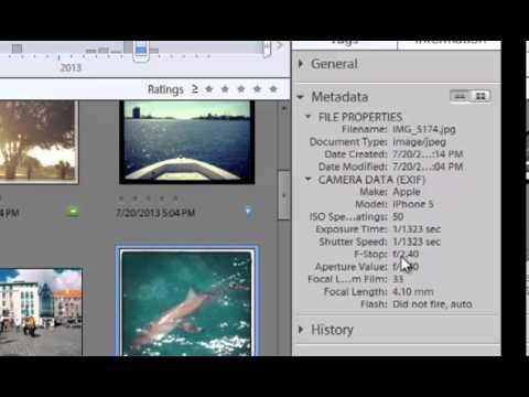 Photoshop Elements 11 Tutorial 3: Metadata search