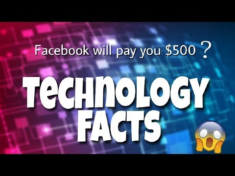 10 Interesting Technology Facts | in Hindi | Facebook will pay you $500 !