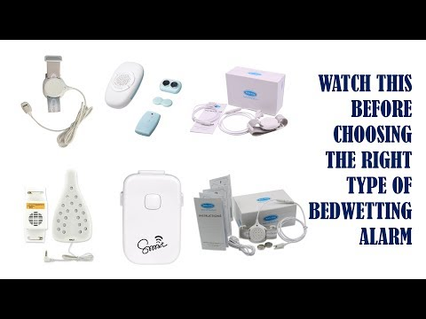 READ THIS BEFORE CHOOSING THE RIGHT TYPE OF BEDWETTING ALARM
