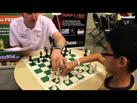 Kids Chess Game Review: Texas Nationals With FM Mike Klein