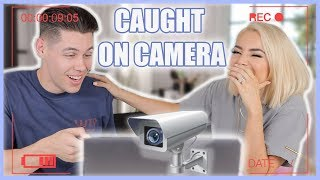 THE THINGS WE'VE CAUGHT ON CAMERA...LOL