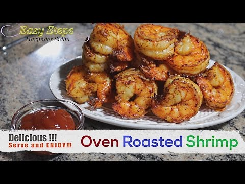 FAST RECIPE How to Cook Oven Roasted Shrimp | Black Tiger Shrimp | Prawns