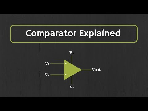 Comparator Explained (Inverting Comparator, Non-Inverting Comparator and Window Comparator)