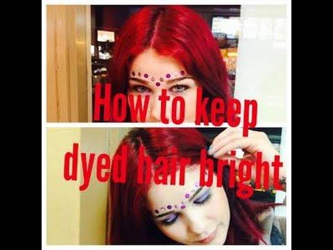 Tricks To keep hair dye in longer