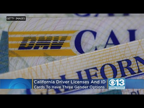 California Driver's Licenses And ID Cards To Have Three Gender Options