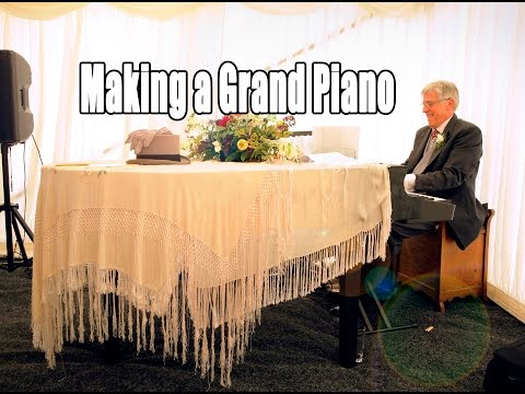 Making a Grand Piano for our Wedding