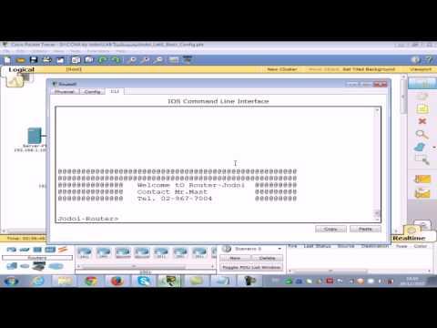 Basic Config Router Cisco (Mr.Mast Jodoi)