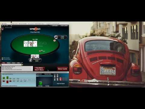 Spin and Go poker tournaments.