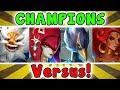 Which CHAMPION Is The STRONGEST? - Zelda Breath Of The Wild Versus (Daruk, Revali, Mipha, Urbosa)
