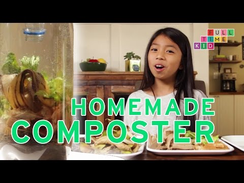 Making a Homemade Composter! | Full-Time Kid | PBS Parents