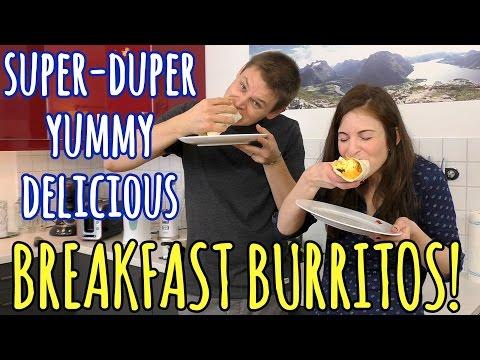 HOW TO MAKE Breakfast Burritos