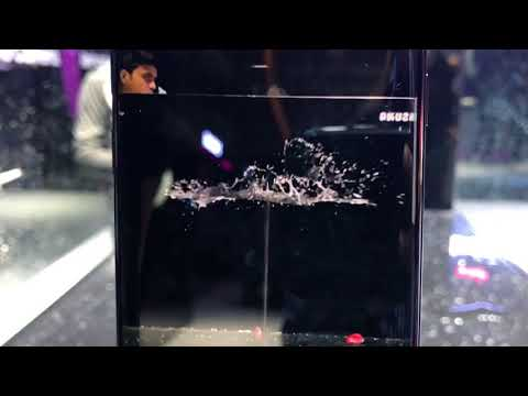 Samsung Galaxy S9/ S9+ 960FPS Super Slow Motion Demo | Intellect Digest
