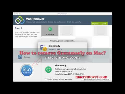 How to Remove Grammarly on your macOS and Mac OS X?