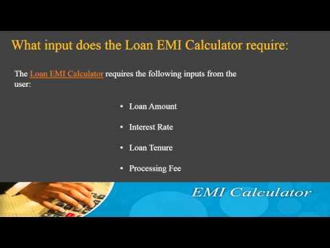 How to use Loan EMI Calculator