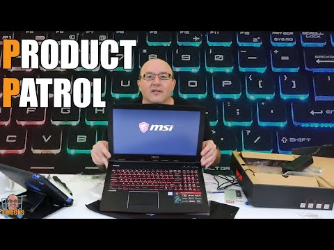 MSI Gaming Laptop Review: Apache GE62 7RD-471CA Unboxing