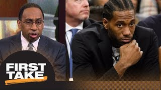 Stephen A. shares theory on why Spurs