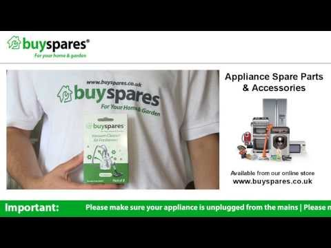 How to use BuySpares Vacuum Cleaner Air Fresheners in a Smelly Vacuum Cleaner