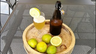 Homemade Craft LEMON BEER recipe