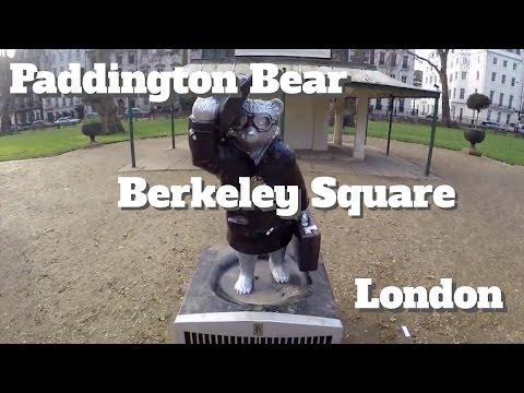Paddington Bear Berkeley Square Mayfair Westminster London