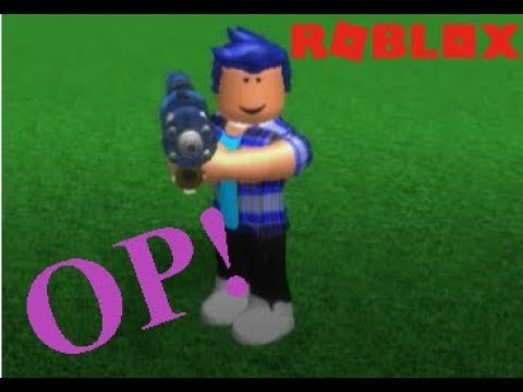 Roblox - Superhero Tycoon! Laser Gun REVIEW!