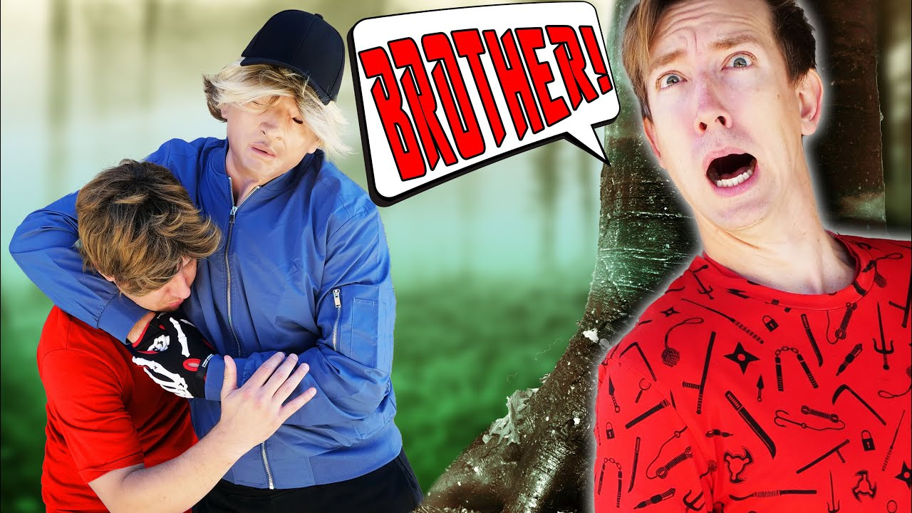 CREEPY ADMIRER KIDNAPS MY BROTHER and Daniel's Little Dog but We Find a Hacker Battle Royale