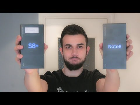 Comparativa: Samsung Galaxy Note 8 Vs S8+ (Plus) | Enfrentamiento y diferencias