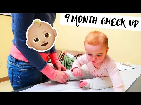 EMERSON'S 9 MONTH CHECK UP!