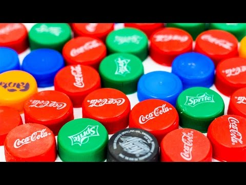 5 Ways To Reuse Plastic Bottle Caps