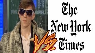 Undercover Footage Shows NYT Editor Bragging About Censoring Videos