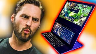 Dual-screen Laptops are... a thing!?
