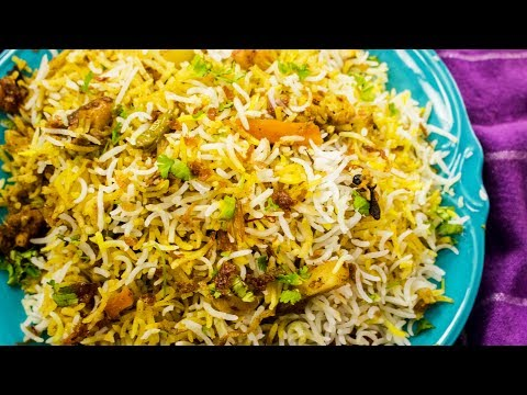 Biryani Recipe | Restaurant Style Hyderabadi Veg Dum Biriyani Recipe