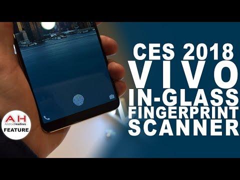 Vivo In-Glass Fingerprint Scanner Hands On