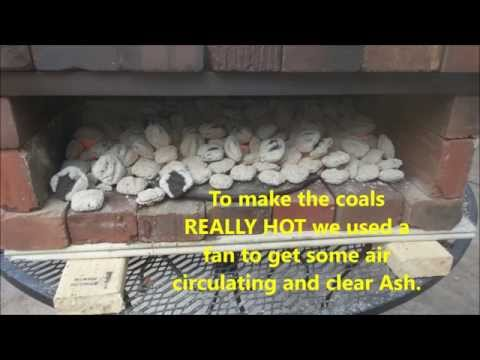 DIY Brick oven Pizza,  Quick and easy to make