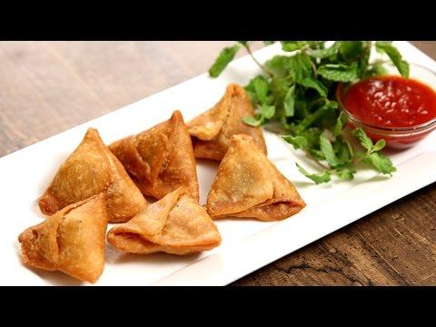 Keema Samosa Recipe | Minced Meat Samosa | The Bombay Chef – Varun Inamdar