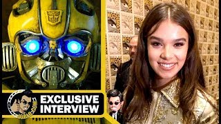 BUMBLEBEE Interview w/ Hailee Steinfeld & Cast/Crew (SDCC 2018) Comic Con