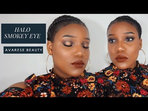 Halo Smokey Eye - Date Night / Valentines Day Makeup