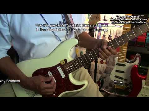 How To Play VOYAGE TO ATLANTIS Isley Brothers Guitar Cover & Lesson Link  EricBlackmonGuitar