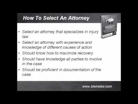 FAQ:  How do you Choose a Good Injury & Accident Lawyer for Your Case?