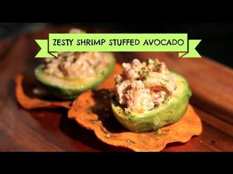 How to Make Shrimp Stuffed Avocado