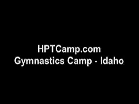 gymnastics - pike jump series